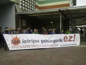 151126 LO konzentra Oiartzun