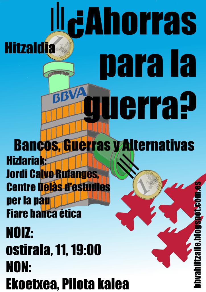 cartel charla BBVA