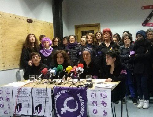 Aurtengo  martxoaren  8an  Euskal  Herriko  mugimendu  feministak  bat  egin  nahi  du