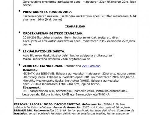 Zibersteilas  18:  Birbaremazioa,  Leku  aldatze  Lehiaketa  eta  Zerbitzu  eginkizunak